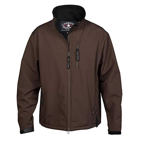 Carroll Original Wear Soft Shell Jacket, The Short Round Brown COW5694