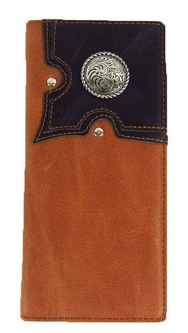 Men's BA1752 P & G Genuine Leather Executive Wallet