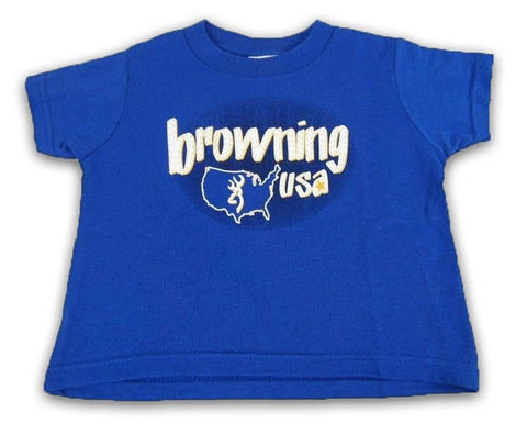 Browning Toddler Buckmark USA Tee Shirt - BRD7515.054