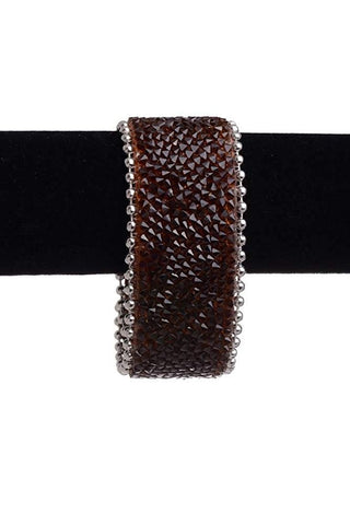 Kamberley Bling Geniune Leather Bracelet