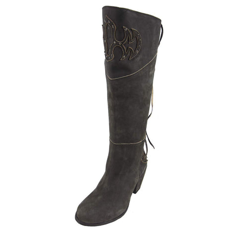 Corral Boots Women's Lace Tall Embroidered U Toe Boots - Q0081