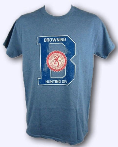 Browning Men's Hunting Big B Buckmark Tee Shirt