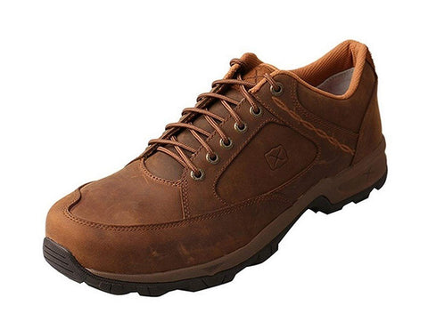 Twisted X Casual Shoes Mens Hiker ST Red Buckle Saddle MHKS001