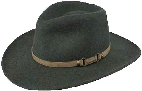 Stetson Monument Wool Cowboy Hat, Olive Mix, Large