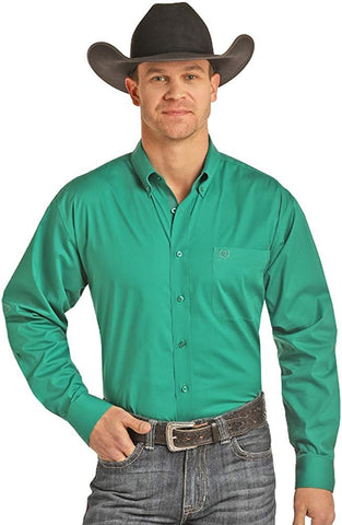 Panhandle Men's Long Sleeve Button Down Shirt