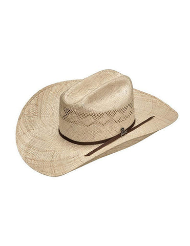 Western Cowboy Hat Straw Sisal Double S Crown Natural A73148