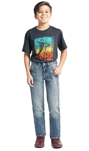 Boys Reovler Fit Bootcut, Size 8R, BBS2384