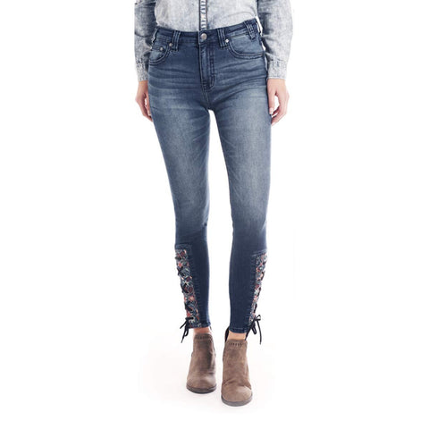Rock & Roll Cowgirl High-Rise Skinny Extra Stretch Jean - WHS2537