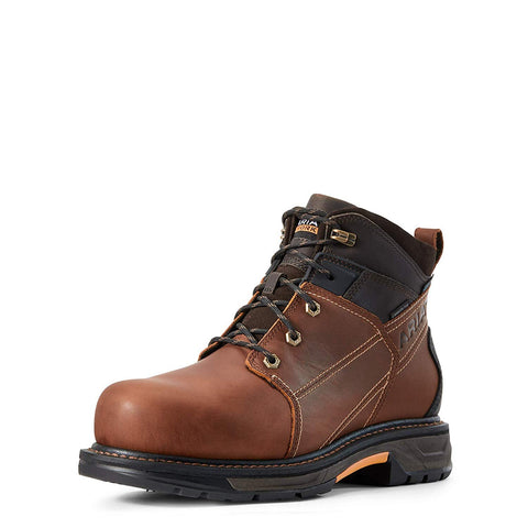 "Men's Workhog Xt 6"" Waterproof Carbon Toe Work Boot, Russet Brown"