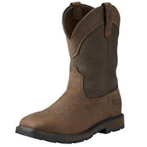 Men's Groundbreaker Wide Square Steel Toe Work Boot - 10015812