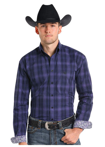 Roughstock by Panhandle Long Sleeve Button Down Shirt