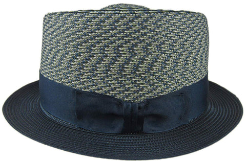Dobbs Surfin' Safari Grey Mix Straw Fedora