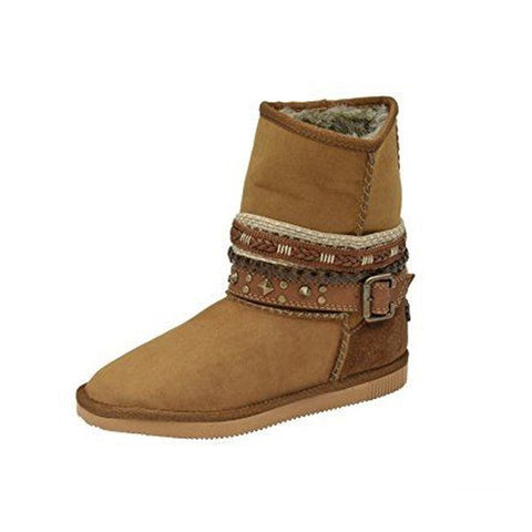 Circle G by Corral Women's Distressed Winter Short Boot<br>P5060