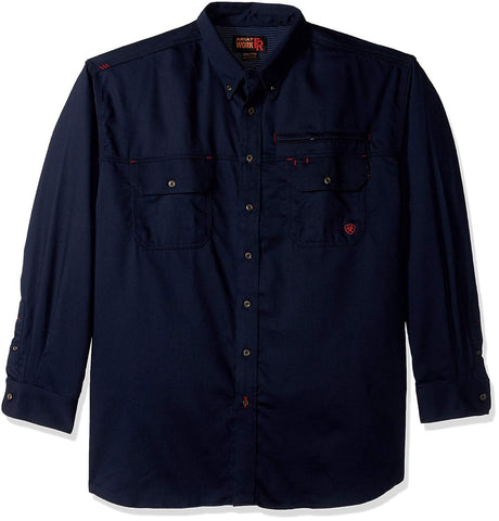 Men's Big and Tall Flame Resistant Work Shirt