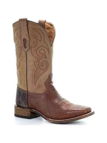 CORRAL Mens A3547 Black Tyson Selection Western Boot