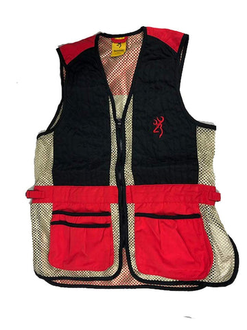 Browning Team Vest SMU Red