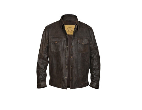 STS Ranchwear men's The Eastwood(Cracker Black, Small) STS5745