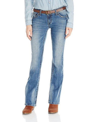 Wrangler Rock 47 Fashion Sits Above Hip Jeans - WJX15DM