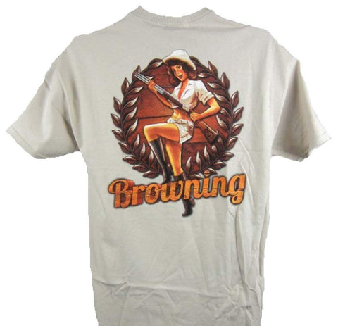 Browning Men's Hunting Girl Tee Shirt