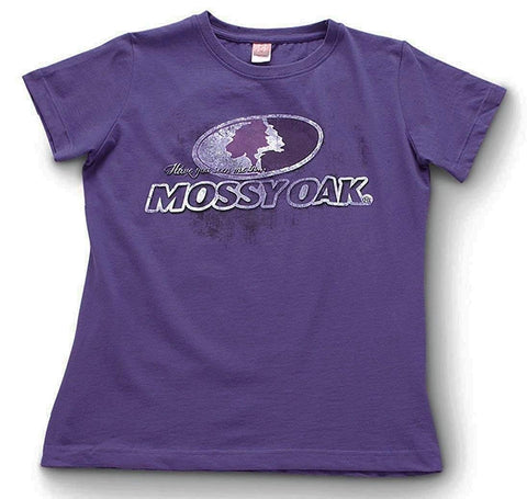 Mossy Oak Women's Logo Shadow Short Sleeve Tee Shirt - MOD4003.530