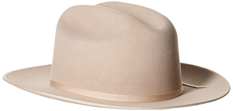 Men's 6X Open Road Fur Felt Cowboy Hat - Sfoprd-052661 Silver Belly