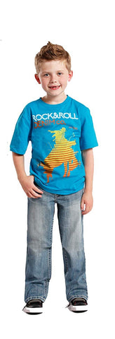 Rock and Roll Denim, Boys Jeans, Medium wash, Size 7R