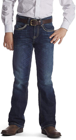 Kid's B4 Relaxed Ridgeline Boot Cut Jean Synergy, 8 Regular 10018346