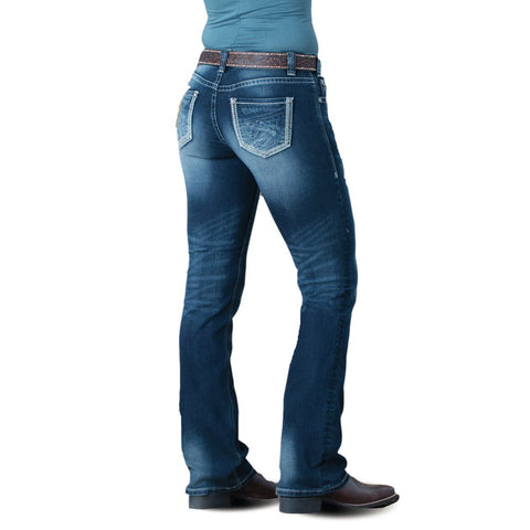Rock & Roll Cowgirl Lasso Loyalty Mid-Rise Jean