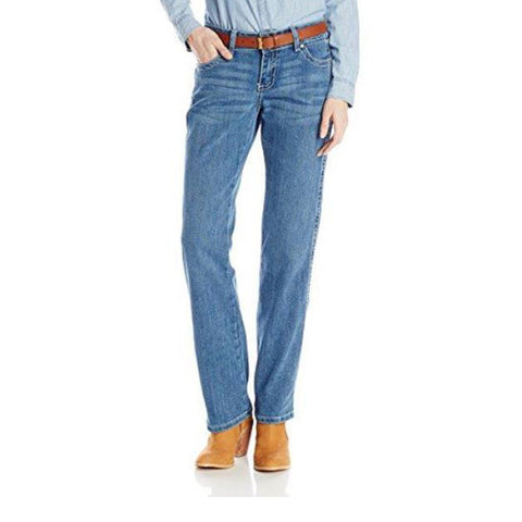 Wrangler Women's Mae Premium Patch Sits Above Hip Jean - 09MWZSN