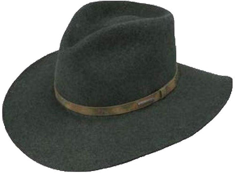 Palmer Wool Cowboy Hat, Olive Mix, Medium