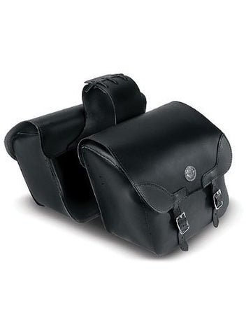 Carroll Leather 7041 Large Economical Slant Saddlebag