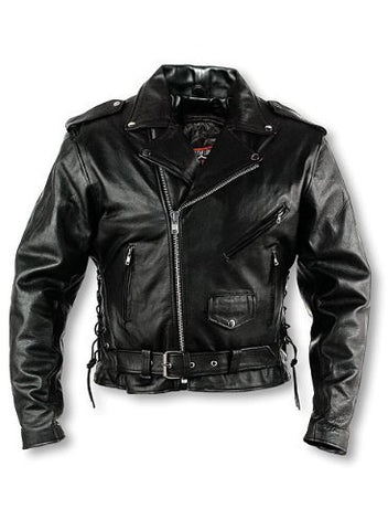 Interstate Leather Men's Classic Riding Jacket I101142