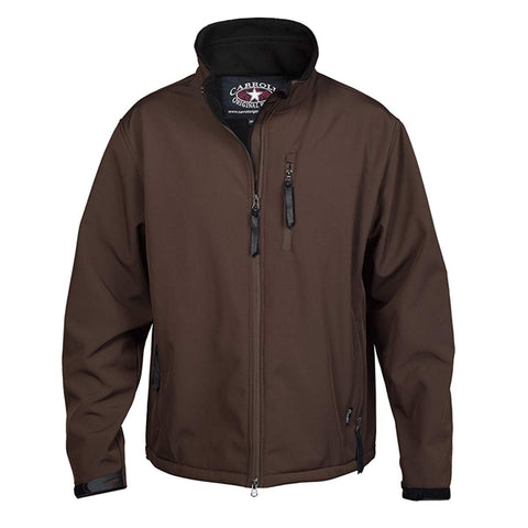 Carroll Original Wear Youth Soft Shell Jacket, The Short Round Brown COW5693