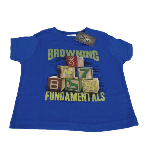 Browning Toddler's Buckmark Blocks Tee Shirt