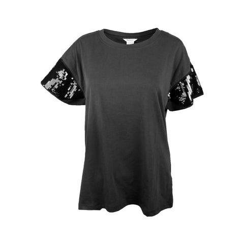 Ariat Women's Shimmer Tee, Black 10024157