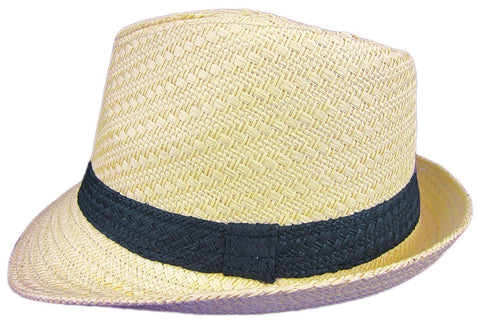 Dobbs Mini Sand Straw Hat Fedora