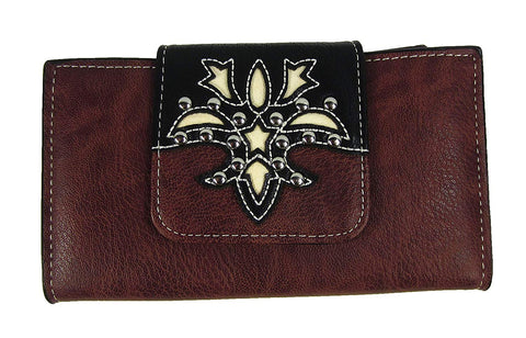 Women's P & G BA2443-A Genuine Leather Wallet