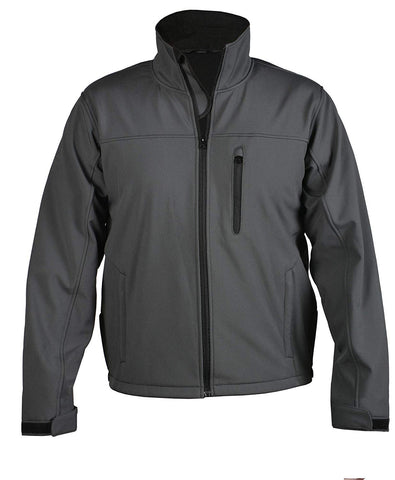STS Ranchwear Mens Short Go Softshell Jacket Gray STS9644