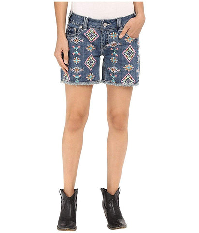 Rock and Roll Cowgirl Women's Low Rise Short 68-7375