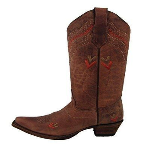 Circle G Women's Shedron Embroidered Snip Toe Western Boot