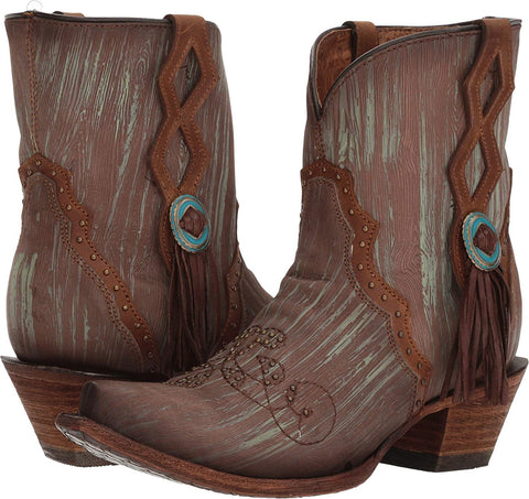 Women's Spur Ridge Short Western Cowgirl Boot - C3292
