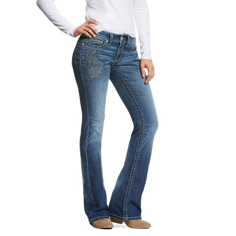 Women's R.E.A.L Mid Rise Heirloom Boot Cut Jean