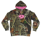 Browning Women's Mossy Oak Break-Up Infinity Camo Hoodie Sweatshirt - MOI3005