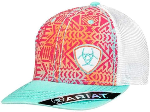ARIAT Mens Ladies Logo Cap OS Multi