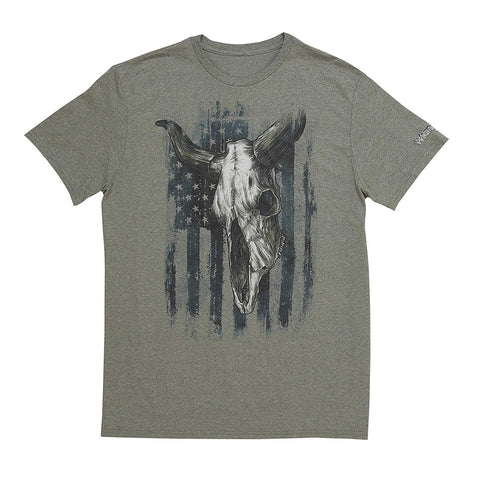 Wrangler Short Sleeve T-Shirt Graphic Sage Pepper Heather
