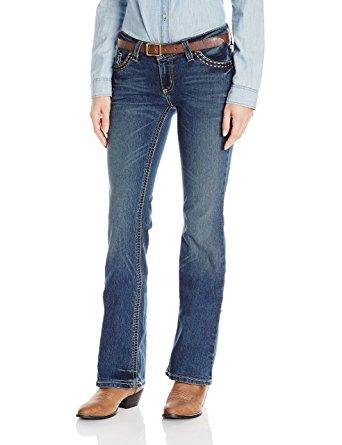 Wrangler Women's Rock 47 Fashion Sits Above Hip Jeans - WJX21CN