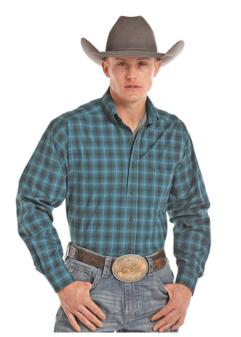Panhandle Men's Tuf Cooper Button-up Long Sleeve Shirt - TCD7216