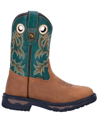 Kid's Ridge Runner Western Boot Wide Square Toe - Dpc3696