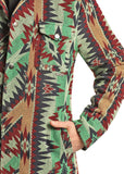 Powder River Outfitters Aztec Commander Jacket, Green