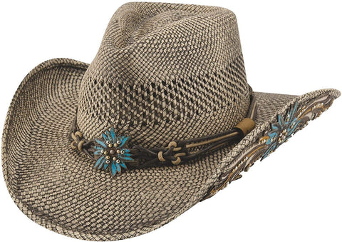Spirit of The West Straw Hat, Brown